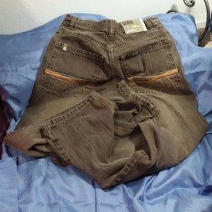 Southpole jeans W34 L30 mens Tan Gray